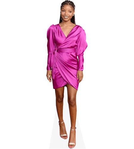 Halle Bailey (Purple Dress)