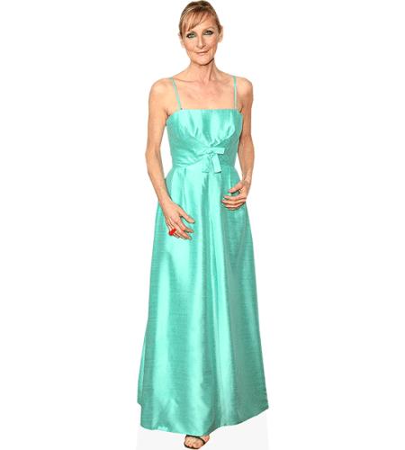 Lesley Sharp (Blue Dress)