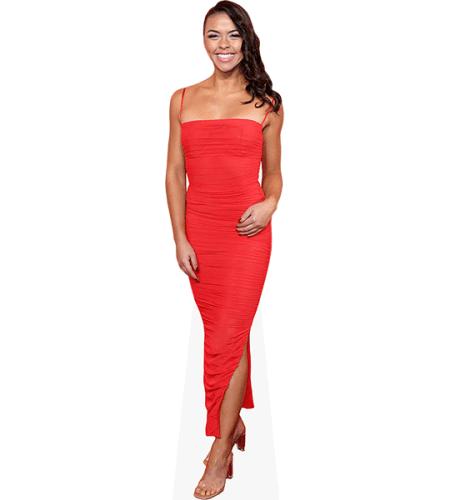 Vanessa Bauer (Red Dress)