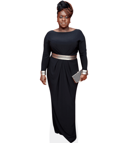 Tameka Empson (Black Dress)