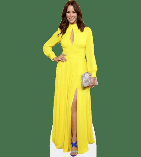 Andrea McLean (Yellow Dress)