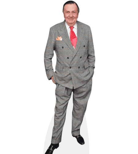 John Barry Humphries (Grey Suit)