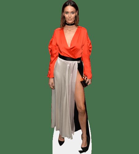 Nicole Trunfio (Orange Top)