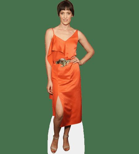 Tess Haubrich (Orange Dress)