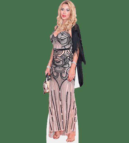 Valeria Marini (Long Dress)