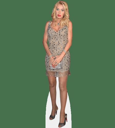 Valeria Marini (Short Dress)