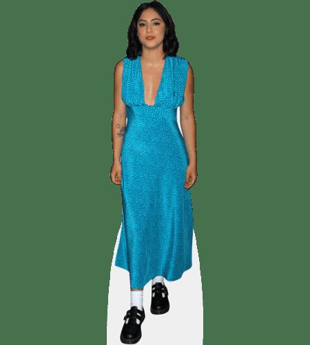 Rosa Salazar (Blue Dress)