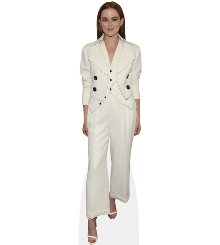 Zoey Deutch (white Outfit)
