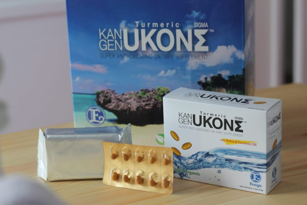 Organic UKON Turmeric Supplement