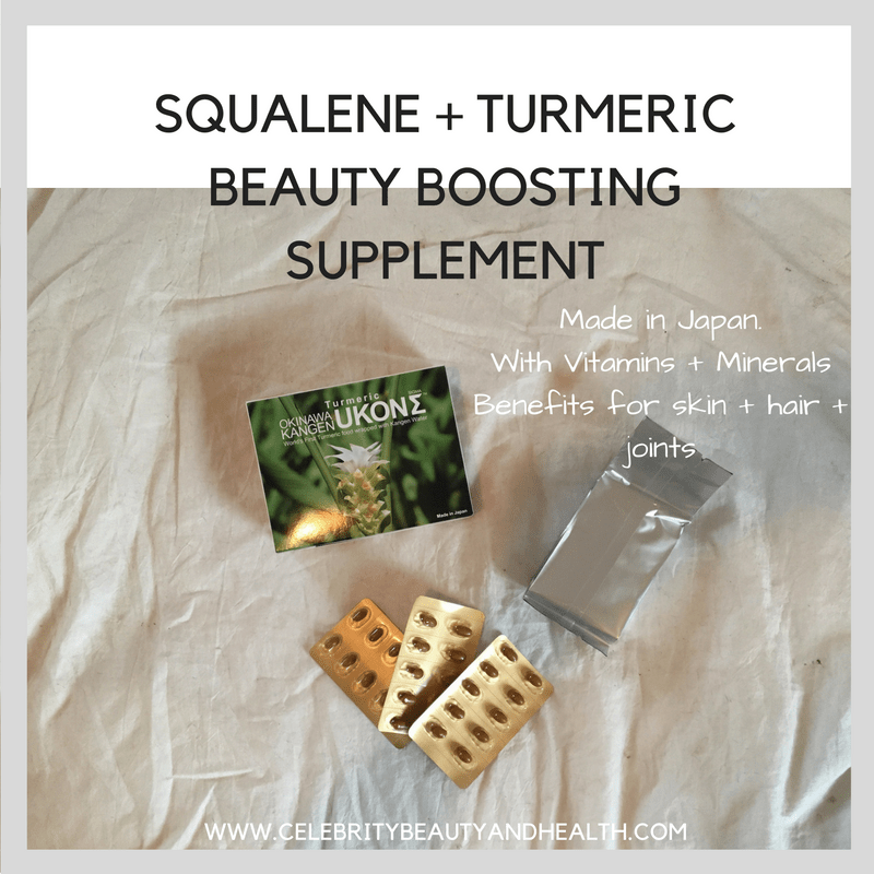 Squalene + Turmeric Anti-oxidant Anti-inflammatory Beauty Boosting Supplement
