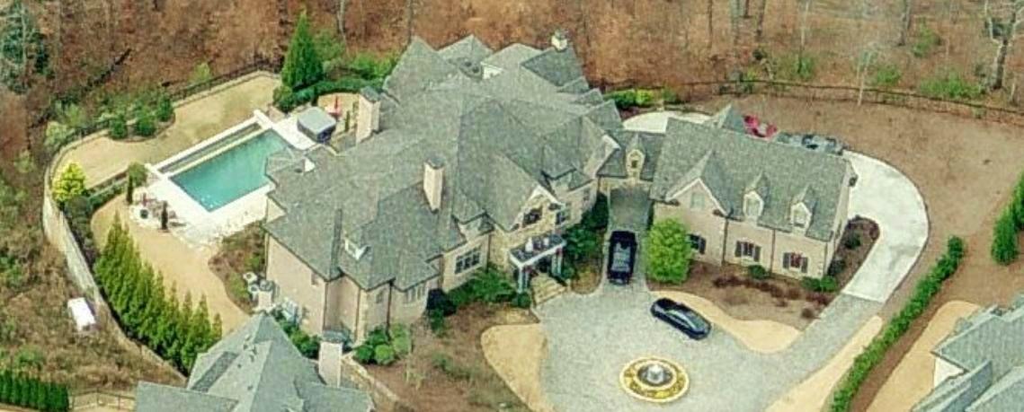 Joe Johnsons house Atlanta Georgia