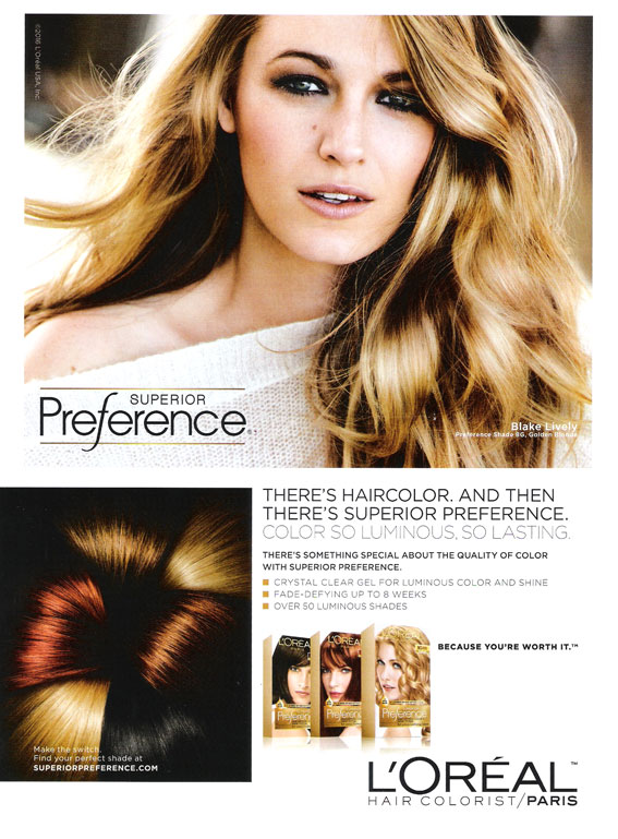 Loreal Hair Color Products