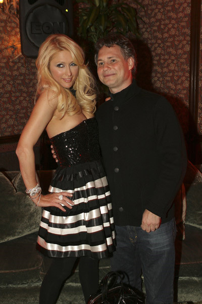 Paris Hilton Alice + Olivia Sequin Strapless Dress