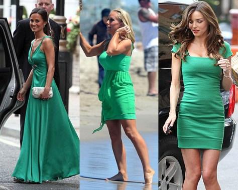 Green Celebrity Goddesses