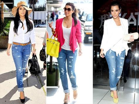 Kim Kardashian JET Jamie Jeans