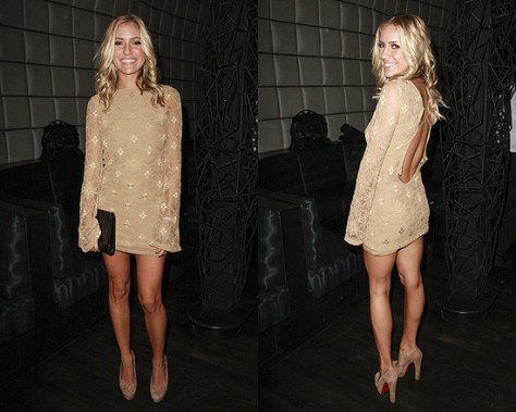 Kristin Cavallari in Nightcap Clothing Priscilla Dress