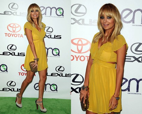 Nicole Richie in Keepsake Lost Without You Dress