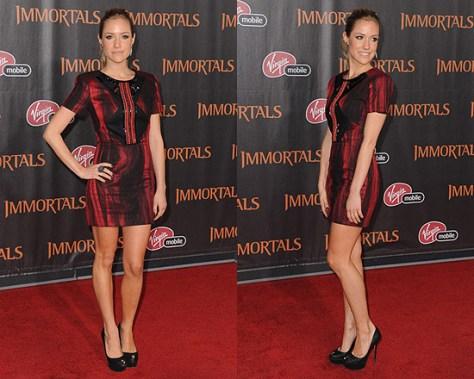 Kristin Cavallari wearing Mimi Plange Mini Dress