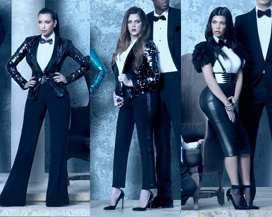 Kardashian Christmas Card Kim Khlo And Kourtney