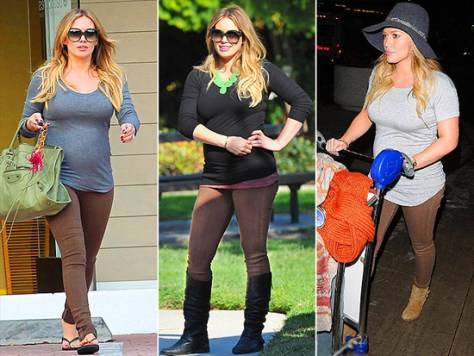 Hilary Duff loves Citizens of Humanity Maternity Pants