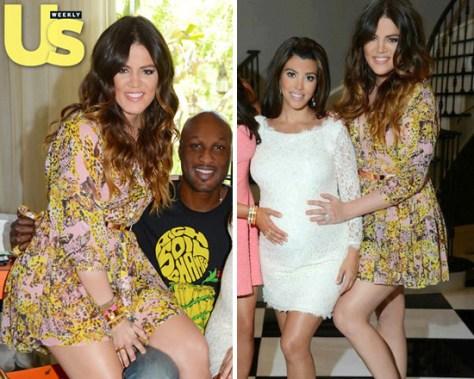 khloe-kardashian-Rebecca-Minkoff-Linda-Tiger-Print-Dress