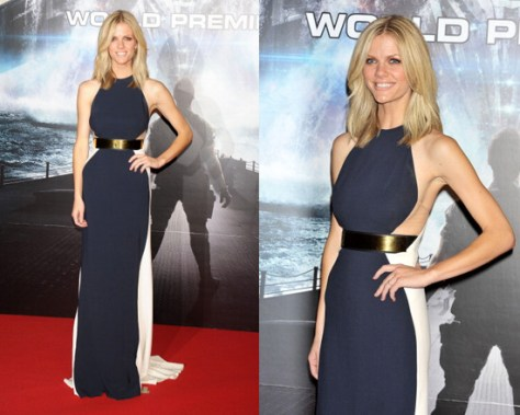 Brooklyn Decker in Stella Mccartney Sleeveless Maxi Gown