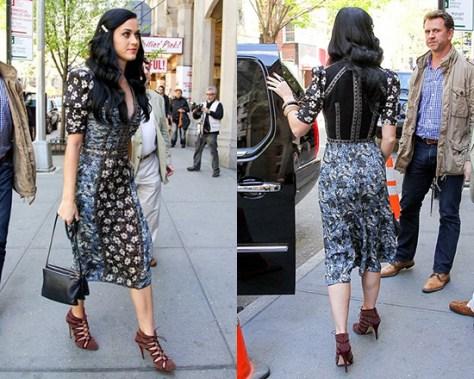 Bottega Veneta Snake-trimmed printed silk dress