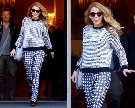 blake-lively-Isabel-Marant-Etoile-Canelia-stripe-sweater