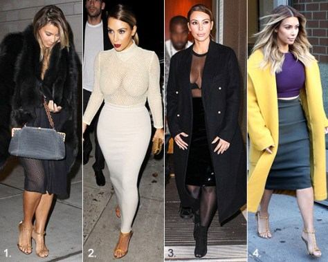 Kim Kardashian Tour Life Fashion and Style