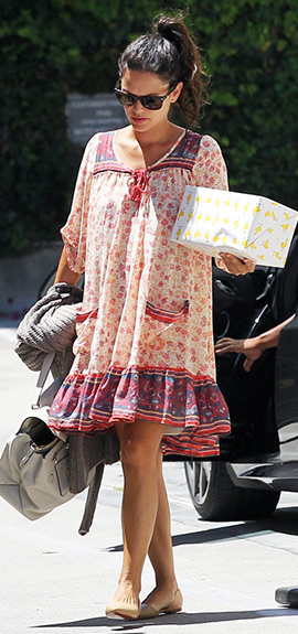 rachel-bilson-Free-People-Penny-Lane-Dress