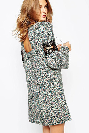 Millie Mackintosh Swing Dress in Floral Print