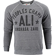 Roots of Fight Muhammad Ali Peoples Champ Rumble Anniversary Sweatshirt as seen on Lauren Hashian