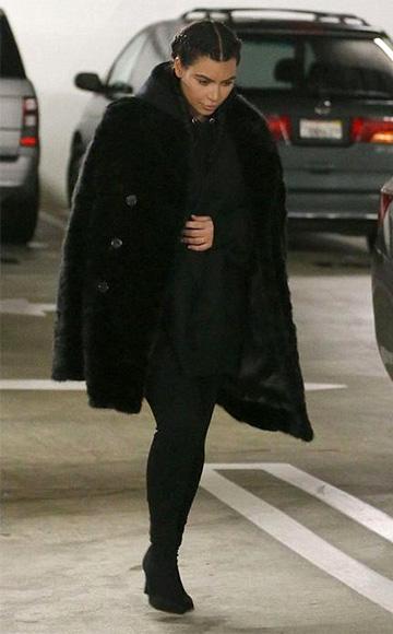 Ann Demeulemeester Double Breasted Coat as seen on Kim Kardashian West
