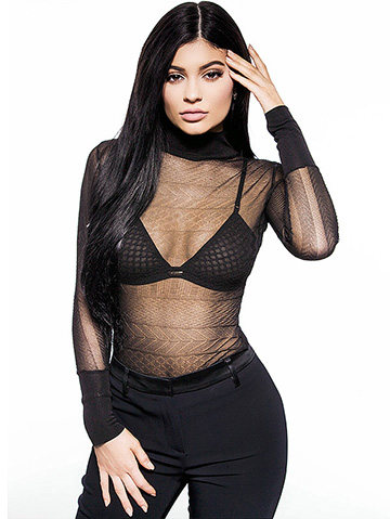 Style Stalker Robyn Mesh Bralette as seen on Kylie Jenner