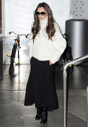 Victoria Beckham Calf Leather Boots
