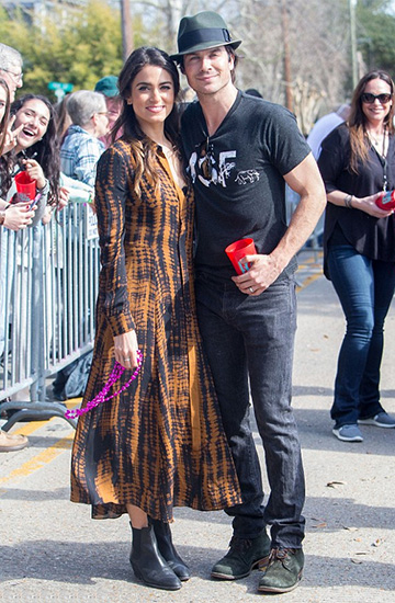 A.L.C. Maxwell Shirt Dress as seen on Nikki Reed