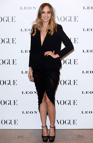 Charlotte Olympia Scribble Dolores Laser-Cut Pumps as seen on Suki Waterhouse