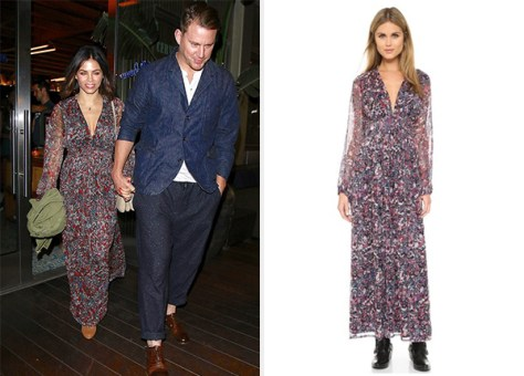 IRO Kimie Dress as seen on Jenna Dewan-Tatum