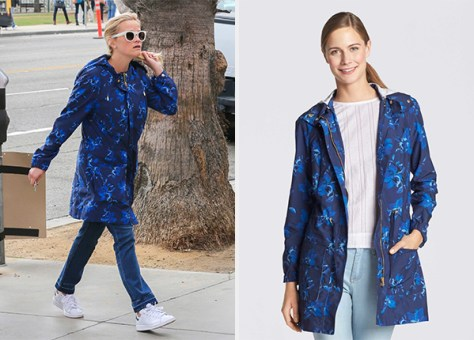 Draper James Blue Savannah Floral Grove Jacket as seen on Reese Witherspoon
