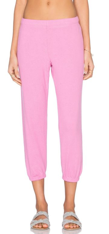 Michael Lauren Nate Crop Sweatpant