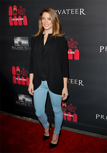 Ashley Greene in Siwy Felicity No Seam Let It Be Skinny Jeans at the '6 Bullets To Hell' Premiere in Los Angeles, May 10, 2016