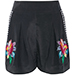 Matthew Williamson Embellished Embroidered Shorts
