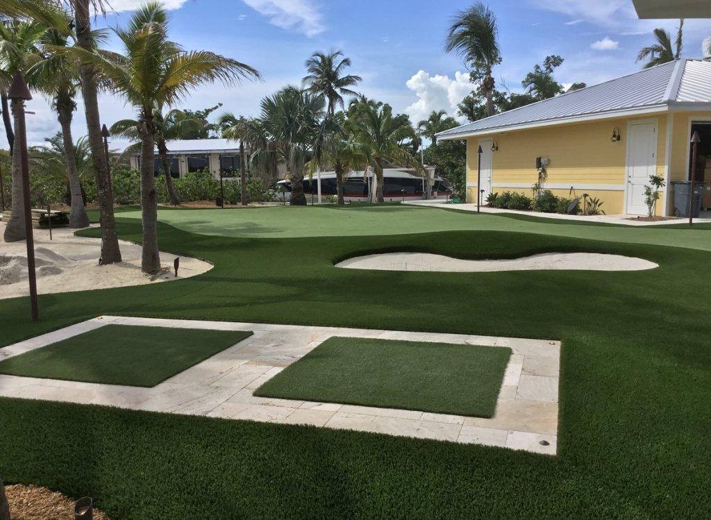 Florida artificial turf golf complex