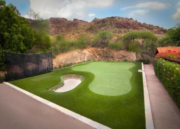 Scottsdale Paradise Valley Arizona artificial grass putting green
