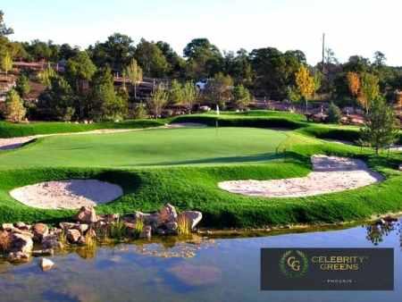 Golf Green Lake