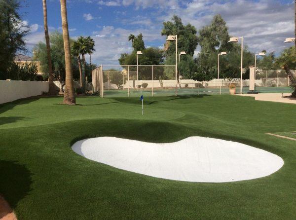 backyard putting green arizona