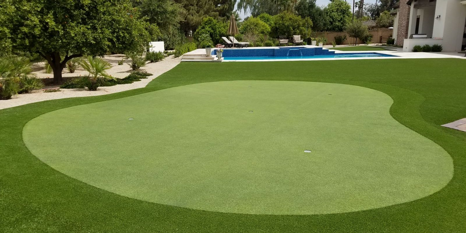Backyard Golf Course Design - House of Things Wallpaper