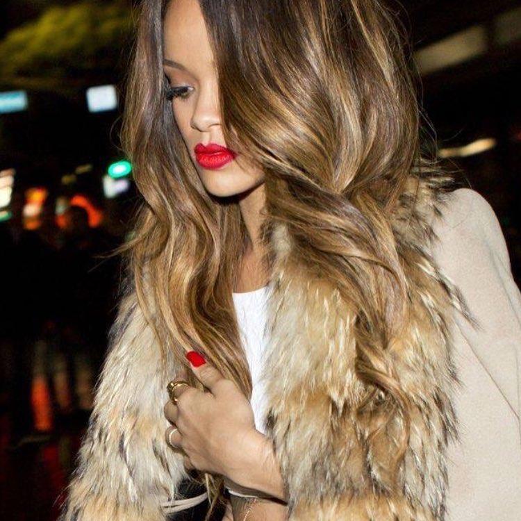 Rihanna Caramel Hair Color 2016 Celebrity Hair Color Guide