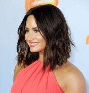 demi lovato hair color 2017 - celebrity