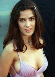 See free movies and pictures galleries with naked Salma Hayek